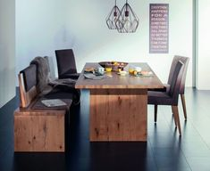 Weissengruber Dinning Table, Kitchen Dining, Dining Room, Dream Home Design, House Design, Room Ideas, Google, Furniture, Home Decor