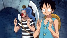 Luffy and Buggy