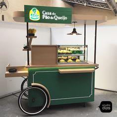 Cafe Shop Design, Coffee Shop Interior Design, Kiosk Design, Juice Bar Design, Food Cart Design, Mobile Kiosk, Bike Food, Organic Restaurant, Food Kiosk