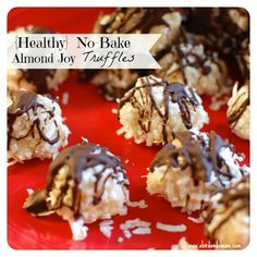 Healthy No-Bake Almo