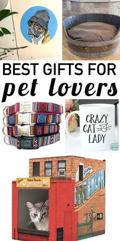 Have pet lovers to buy for? This list of cat & dog lover gifts is the best I have seen! So many great pet lover gift ideas.