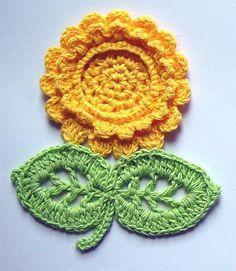 crochet flower.... #crochet_inspiration ..