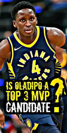 WATCH  Is Victor Oladipo a Top 3 MVP Candidate   Pacers f44b3e1b2