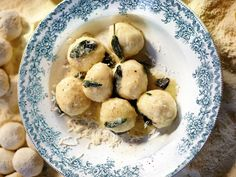 I, like so many others, fell head-over-pillowy-balls-of-cheese in love with gnudi at the Spotted Pig in NYC, where Chef April Bloomfield made them famous. Jamie Oliver's version in his new book, Jamie Oliver's Comfort Food, is much like his friend Bloomfield's, but with a few personal touches.