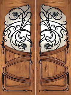 70 Best Art Nouveau Door Images In 2018 Doors Art