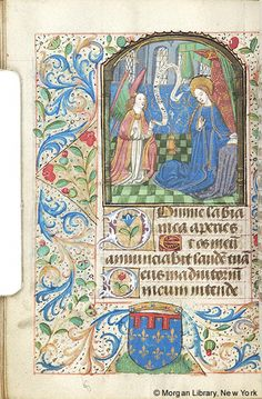 Book of Hours, MS M.253 fol. 61v - Images from Medieval and Renaissance Manuscripts - The Morgan Library & Museum