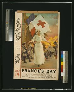 French Red Cross day 1915