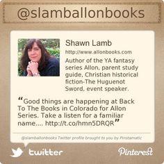 @slamballonbooks's #Twitter profile courtesy of @Pinstamatic (http://pinstamatic.com)