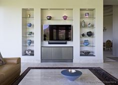 modern-custom-home-entertainment-center-drywall-lacquer-paradise-valley-designer-glass-shelves-after-2