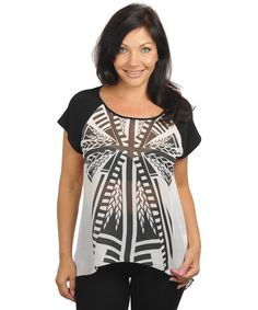 Black and white top White Chiffon, Chiffon Tops, Curvy Clothes, Girls Sizes, Black And White Tops, A Boutique, Girly Girl, Closets, Plus Size Fashion