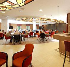 Annekoos Littel Interieurarchitecten bni - Woonzorgcentrum De Luwte Amstelveen #health #care #interior #design #annekoos #annekooslittel #woerden #restaurant #elderly #elderlycare