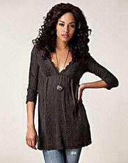 Timeout Tunic - Odd Molly - Dark grey - Dresses - Clothing - NELLY.COM