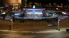 #Singapore knows how to go all out even with their #roundabout   #lightfunc #fountain #lighting #design #beautiful