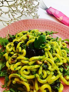 Gramigna olive e rucola