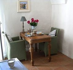The dining area in the lounge of our little Ligurian bolthole Rental Apartments, Dining Area, Lounge, Italy, Holiday, Furniture, Home Decor, Airport Lounge, Drawing Rooms