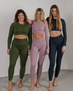 Bilde av We Are Fit Forrest Top Ribbed Tights, Fitness, Pants, Shopping, Tops, Dresses, Fashion, Navy Tights, Trouser Pants