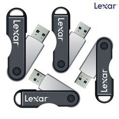 4-Pack: Lexar JumpDrive TwistTurn 16GB USB 2.0 Flash Drives
