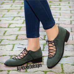 Yeşil Babet #shoes #trend #fashion