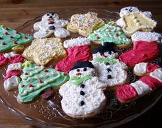 Christmas Cookies (vegan)