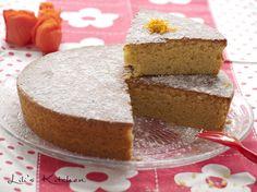 Gâteau moelleux à la farine de pois chiche et à l'huile d'olive, parfumé à l'orange et à l'amande (vegan) - sans gluten