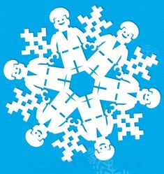 LEGO movie snowflake pattern from Delphic Digital. Awesome!