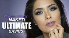Urban Decay Naked Ultimate Basics tutorial   Warm vs. Cool Makeup   Meli...