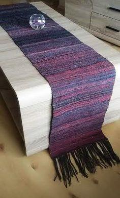 Handwoven Table Runner Rustic - Christmas gift - Boho