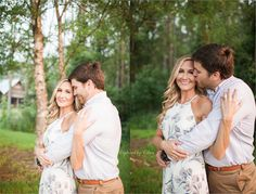 Quail Branch Lodge | Valdosta Georgia Photographer | Engagement Pictures Outfit | Outdoors Photo Session | Captured by Colson Photography