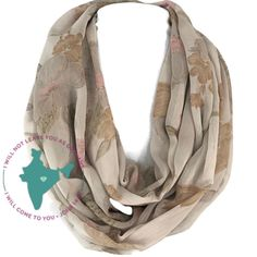 $22.00  Click on the picture twice to go to Etsy Shop.    This beautiful scarf is created from an upcycled Indian sari. Made from a silk blend, on a taupe beige background are