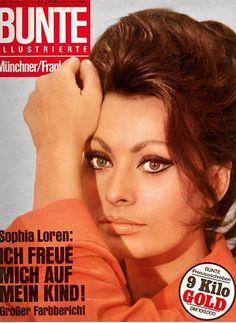 1968: Sofia Loren