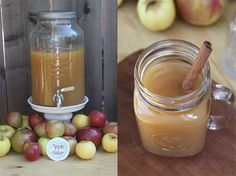 apple cider bar for brinley or coopers bday