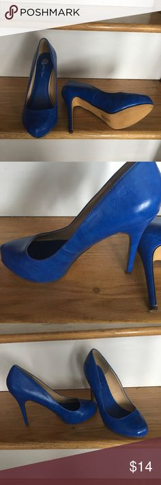 "New royal blue 5"" heels Beautiful and comfortable... they have a hidden platform Shoes Heels"