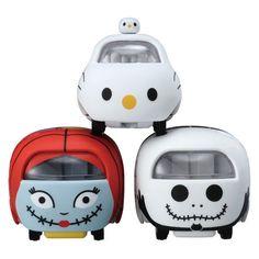 Pre-Order Tomica Disney Motors TSUM TSUM Nightmare Before Xmas Set of 3 Mini-Car #TakaraTomyTomica