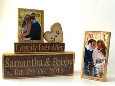 Personalized Wedding gift/Decoration Happily Ever by FayesAttic11, $32.00