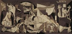 A 25 foot tapestry of Picasso's Guernica is on loan to the San Antonio Museum of Art.