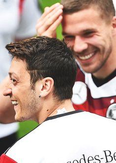 Mesut and Podolsky DFB-