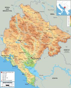 117 Best Montenegro Map images