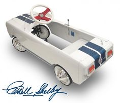 Sweet Shelby Mustang Pedal Car.