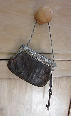 Gorgeous old coin purse