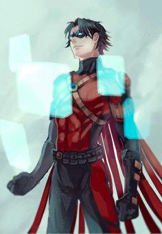 Red Robin. Tim Drake. Timmmmy oh how I love you my childhood Robin <3