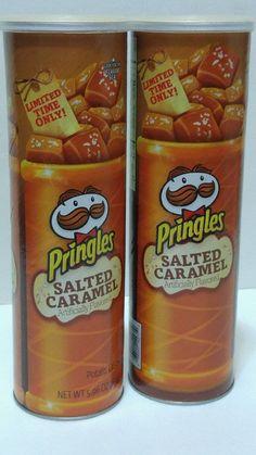 Pringles SALTED CARAMEL Limited Edition Potato Chips #Pringles #limitededition #cybermonday  http://stores.ebay.com/LYLACS-4U?_rdc=1