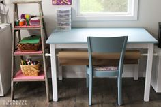 How to Paint Furniture with Minimal Prep Work - The Summery Umbrella