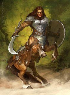 Centaur warrior by CG-Warrior