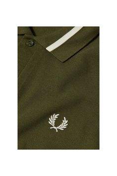 Fred Perry - Single Tipped Fred Perry Shirt Thorn / Ecru