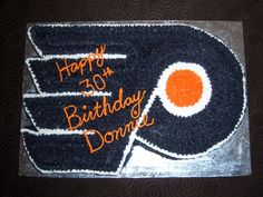Philadelphia Flyers cake