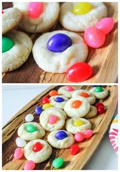 Make a batch of jellybean sugar cookies for Easter dessert! These deliciously soft drop sugar cookies are filled with jellybeans. Easter Cookies, Easter Treats, Sugar Cookies, Baby Cookies, Heart Cookies, Valentine Cookies, Birthday Cookies, Christmas Cookies, Easter Candy