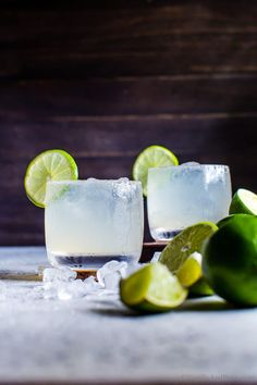 Salty, tart, slightly smoky and sweet with a bit of fizz: a fresh margarita - Mezcal Margarita Fizz comes together quick and is fabulous served along side your favorite Mexican food.
