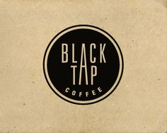 Black Tap Coffee Shop Logo by Jerron Ames https://www.facebook.com/pages/Coffee-Society/651773478236556