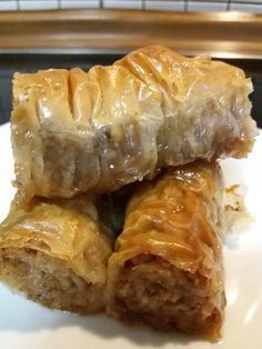 Cookbook Recipes, Cooking Recipes, Turkish Baklava, Desserts With Biscuits, Greek Desserts, Macaron Recipe, Sweet Pastries, Sweets Cake, Bbq Chicken