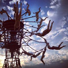 An amazingly creative photo taken at Burning Man 2014